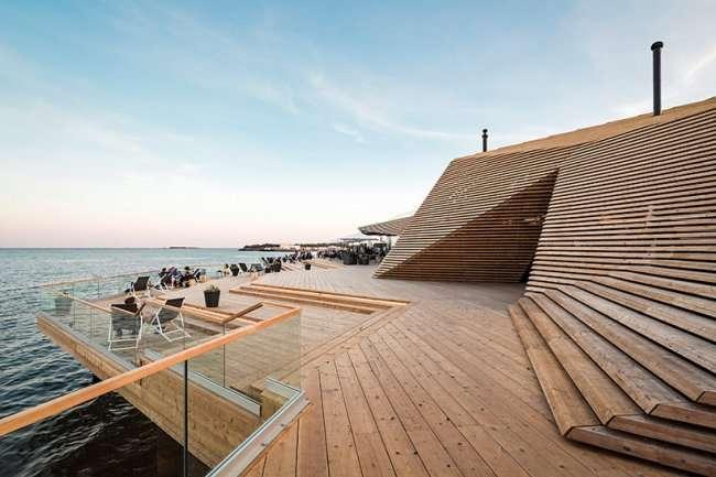 Необычная сауна открылась в Финляндии (15 фото)