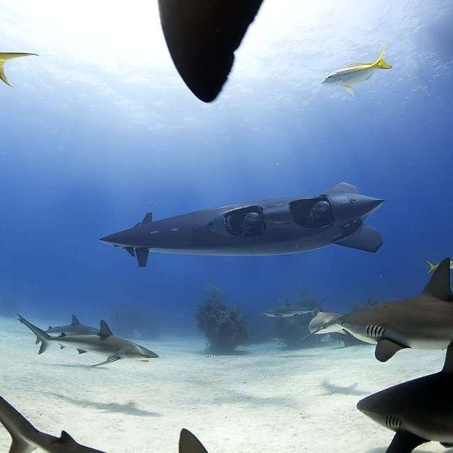 Подводная лодка на 3 человека (10 фото)